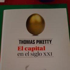Libros: EL CAPITAL EN EL SIGLO XXI. Lote 147683202