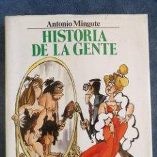 Libros: HISTORIA DE LA GENTE. Lote 148547198