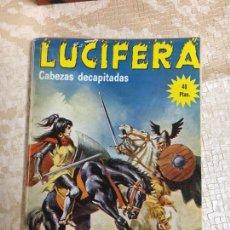 Libros: LIBRO LUCIFERA Nº 13 CABEZAS DECAPITADAS, ELVIBERIA 1.976. Lote 151394880
