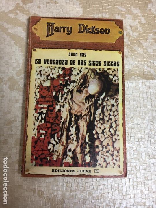 LIBRO JEAN RAY. LA VENGANZA DE LAS SIETE SILLAS. HARRY DICKSON Nº 12. JUCAR (Libros Nuevos - Humanidades - Otros)