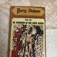 Libros: LIBRO JEAN RAY. LA VENGANZA DE LAS SIETE SILLAS. HARRY DICKSON Nº 12. JUCAR. Lote 151395160
