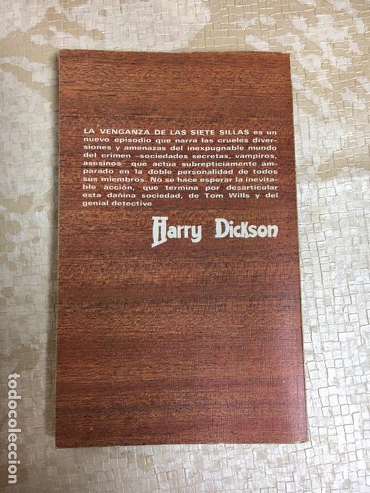 Libros: Libro JEAN RAY. LA VENGANZA DE LAS SIETE SILLAS. HARRY DICKSON Nº 12. JUCAR - Foto 2 - 151395160