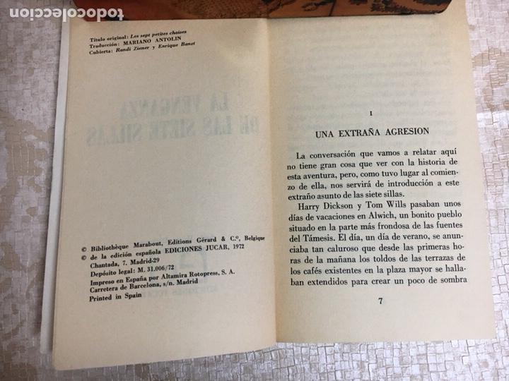 Libros: Libro JEAN RAY. LA VENGANZA DE LAS SIETE SILLAS. HARRY DICKSON Nº 12. JUCAR - Foto 3 - 151395160