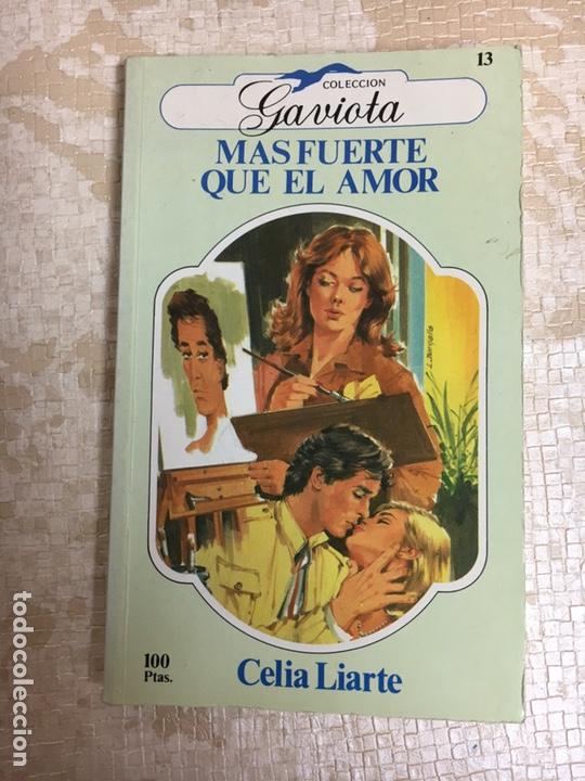 LIBRO MAS FUERTE QUE EL AMOR GABIOTA (Libros Nuevos - Humanidades - Otros)