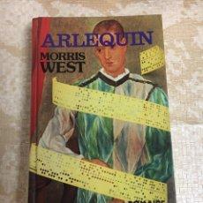 Libros: LIBRO ARLEQUÍN MORRIS WEST. Lote 151395534
