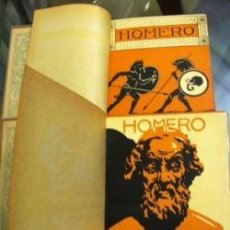 Libros: ILIADA HOMERO 2 TOMOS LECONTE LISLE PROMETEO VALENCIA DIRECTOR LIT. BLASCO IBAÑEZ. Lote 151567454