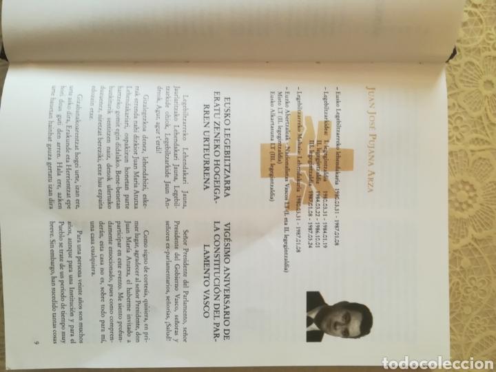 Libros: TESTIGOS DEL TIEMPO .. DENBORAREN LEKUKOAK .. 20 aniversario del Parlamento Vasco I - Foto 9 - 162370646