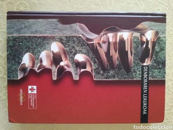 Libros: TESTIGOS DEL TIEMPO .. DENBORAREN LEKUKOAK .. 20 aniversario del Parlamento Vasco I - Foto 12 - 162370646
