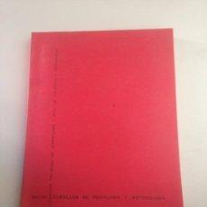 Libros: CURSILLOS DE PSICOLOGÍA Y METODOLOGÍA. Lote 178730373