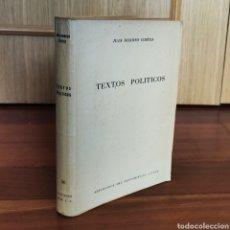 Libros: TEXTOS POLITICOS - JUAN DONOSO CORTES. Lote 179959543