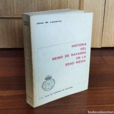 Libros: HISTORIA DEL REINO DE NAVARRA EN LA EDAD MEDIA - JOSE Mª LACARRA. Lote 179960160