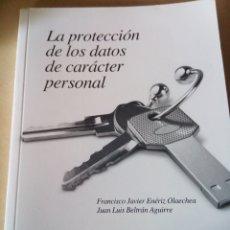 Libros: LA PROTECCIÓN DE LOS DATOS DE CARÁCTER PERSONAL. Lote 180169945