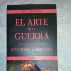 Libros: EL ARTE DE LA GUERRA DIRECTIVOS DIRECTORES Y DIRIGENTES. Lote 181962466
