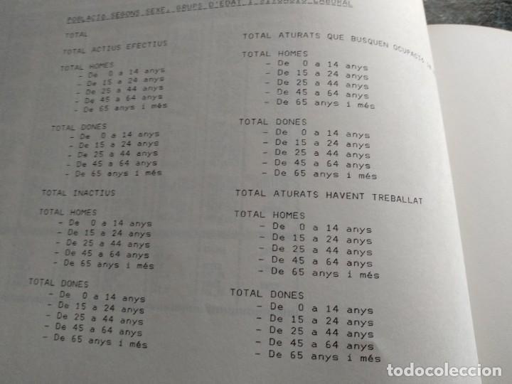 Libros: DADES ESTADISTIQUES - PADRÓ MUNICIPAL DHABITANTS - TARRAGONA - 1986 - Foto 7 - 185718397