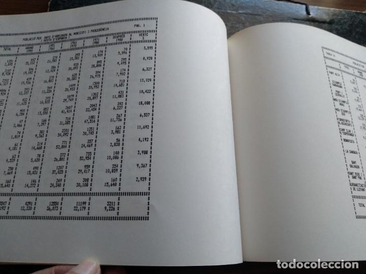 Libros: DADES ESTADISTIQUES - PADRÓ MUNICIPAL DHABITANTS - TARRAGONA - 1986 - Foto 8 - 185718397