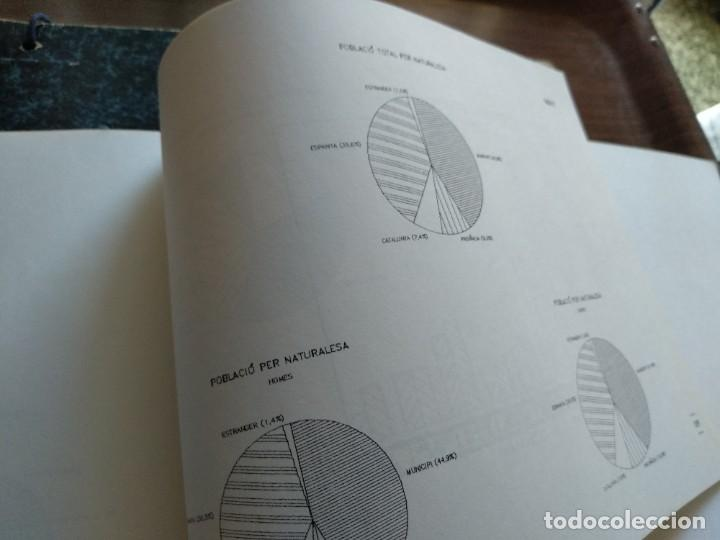 Libros: DADES ESTADISTIQUES - PADRÓ MUNICIPAL DHABITANTS - TARRAGONA - 1986 - Foto 10 - 185718397