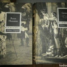 Libros: GENIOS Y RAZAS HUMANAS. BIBLIOTECA HISPANIA.. Lote 191792257