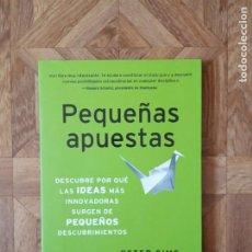 Libros: PETER SIMS - PEQUEÑAS APUESTAS. Lote 194752166