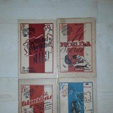 Libros: 4 TÍTULOS DE LA COLECCIÓN EL MUNDO AL DÍA PUBLICADOS EN TOULOUSE POR LA RESISTENCIA EN EL EXILIO. Lote 197714056