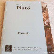 Libros: PLATÓ / EL CONVIT / BERNAT METGE ESSENCIAL Nº 3 / PRECINTADO. Lote 199618070