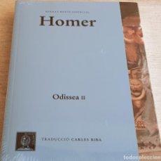 Libros: HOMER / ODISSEA II / BERNAT METGE ESSENCIAL Nº 2 / PRECINTADO. Lote 199618292