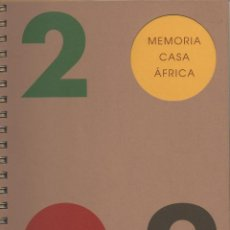 Libros: MEMORIA CASA ÁFRICA. 2009. Lote 211413739