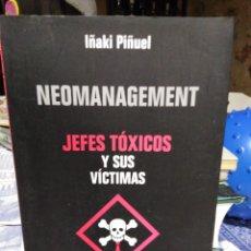 Livros: JEFES TÓXICOS Y SUS VÍCTIMAS-IÑAKI PIÑUEL,AGUILAR 2004,. Lote 215585535