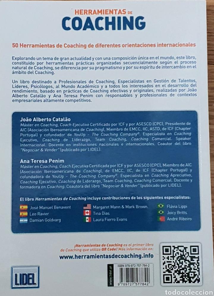 Libros: Herramientas del coaching. Joao Alberto Catalao - Foto 2 - 218326873