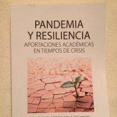 Libros: PANDEMIA Y RESILIENCIA. APORTACIONES ACADÉMICAS EN TIEMPOS DE CRISIS. EUNSA. Lote 219962803