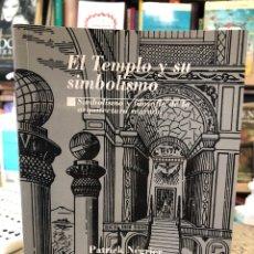 Livres: EL TEMPLO Y SU SIMBOLISMO. Lote 220399903