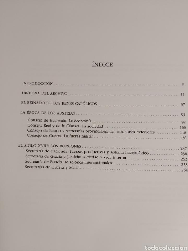 Libros: LOS ARCHIVOS ESPAÑOLES SIMANCAS - Foto 4 - 224995691