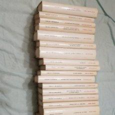Libros: 22 TOMOS CÍRCULO UNIVERSIDAD SIN USAR. Lote 227622250