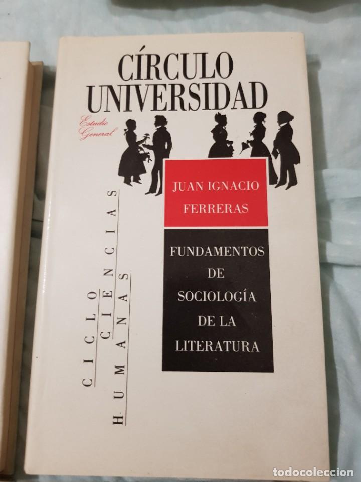 Libros: 22 TOMOS CÍRCULO UNIVERSIDAD-JOSÉ LUIS ABELLÁN-SIN USAR - Foto 15 - 227622250