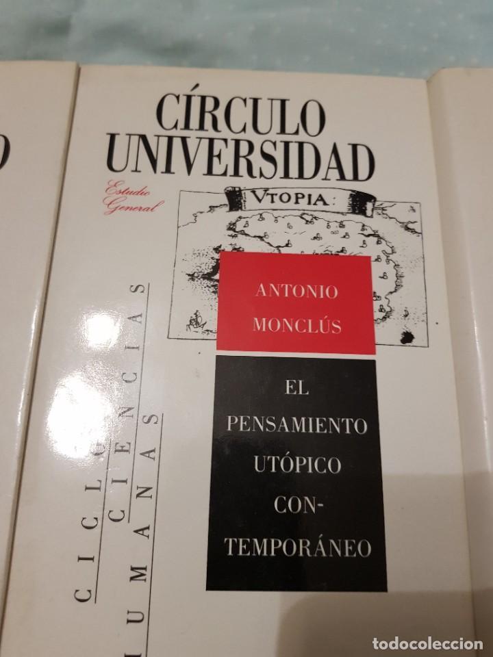 Libros: 22 TOMOS CÍRCULO UNIVERSIDAD-JOSÉ LUIS ABELLÁN-SIN USAR - Foto 20 - 227622250