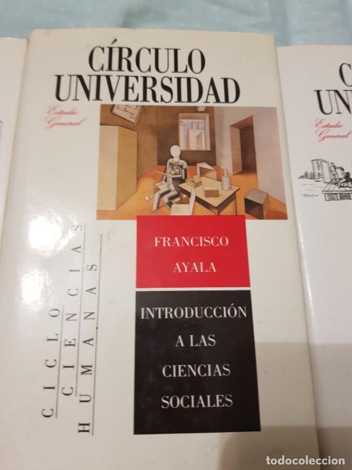 Libros: 22 TOMOS CÍRCULO UNIVERSIDAD-JOSÉ LUIS ABELLÁN-SIN USAR - Foto 43 - 227622250