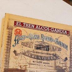 Libros: MAGNIFICO LIBRO EL TREN ALCOI-GANDIA. Lote 227624290
