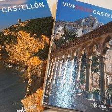 Libros: 2 MAGNIFICOS LIBROS VIVE CASTELLON. Lote 227626240