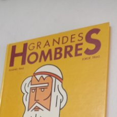 Libros: GRANDES HOMBRES. ILUSTRACIÓN MODERNA. EUGENIO Y JORGE TRIAS.. Lote 238462730