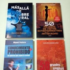 Libros: 4 LIBROS SOBRE ENIGMAS. Lote 243885715