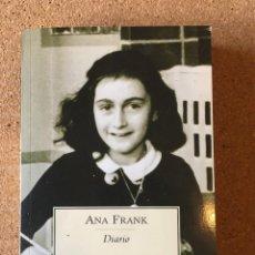 Libros: ANA FRANK. DIARIO.. Lote 253929105