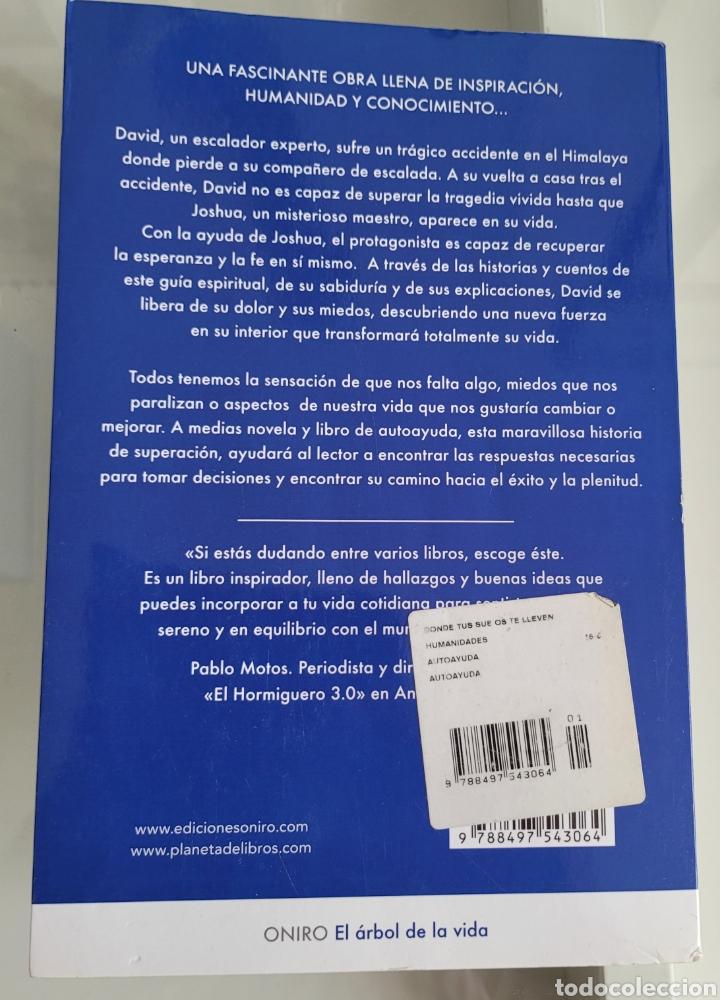 Libros: Donde tus sueños te lleven. Javier Iriondo - Foto 2 - 257387715