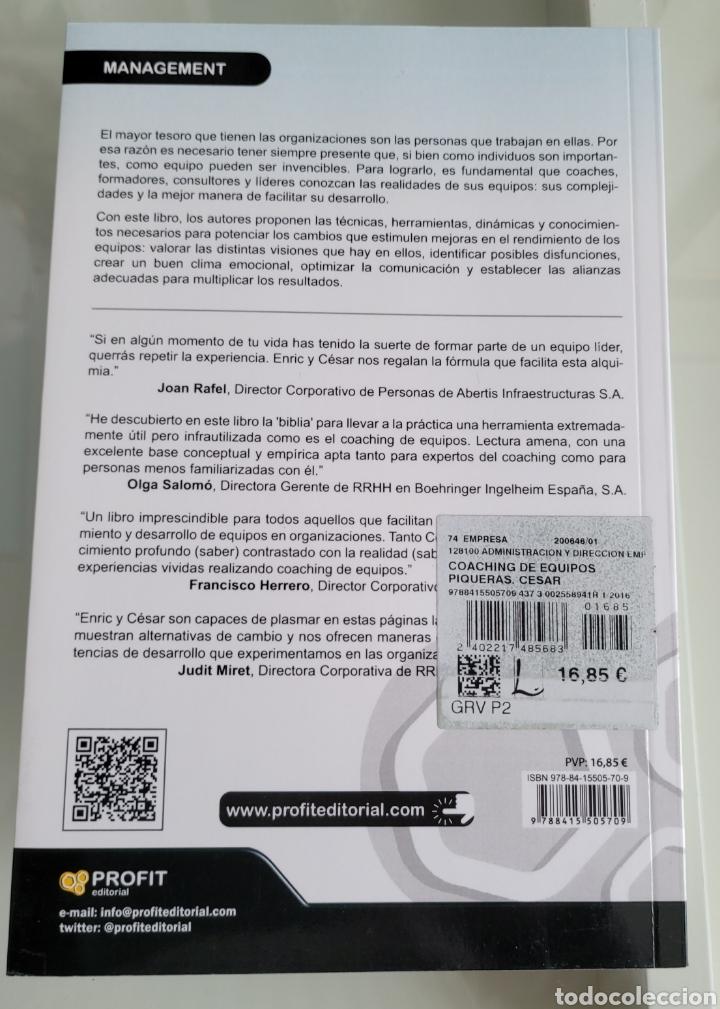 Libros: Coaching de equipos. César Piqueras - Foto 2 - 257387835