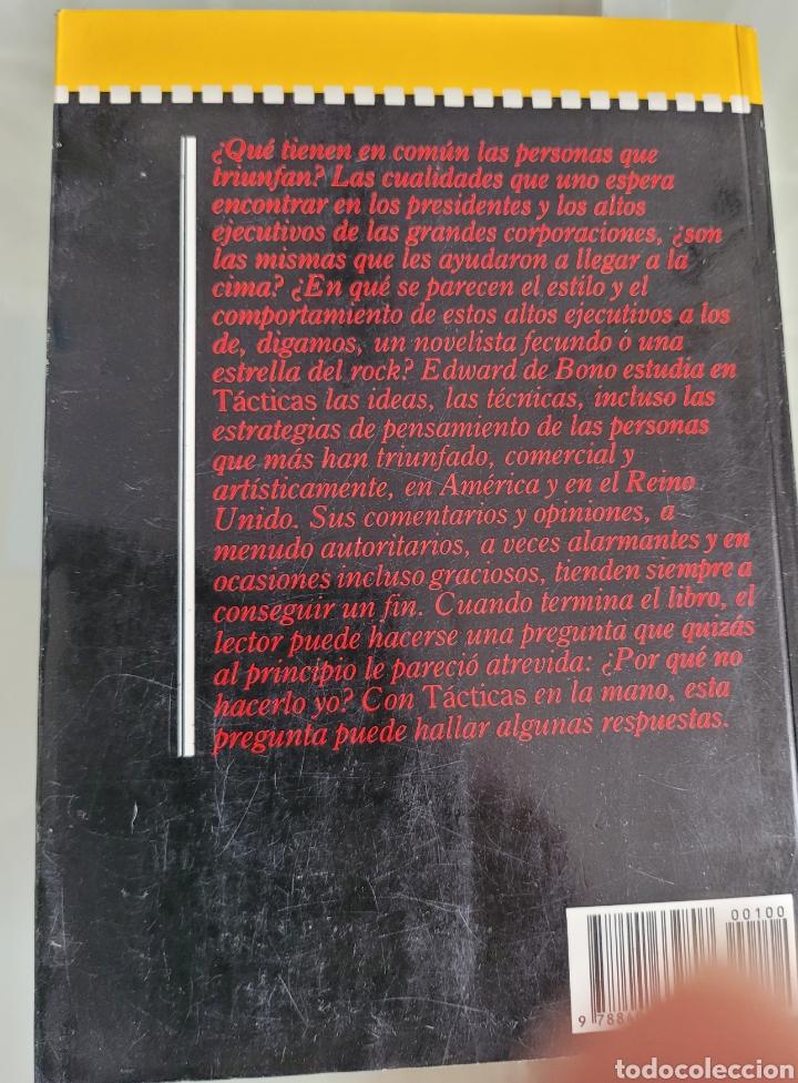 Libros: Tácticas, arte y ciencia del éxito. Edward de bono. - Foto 2 - 257388270