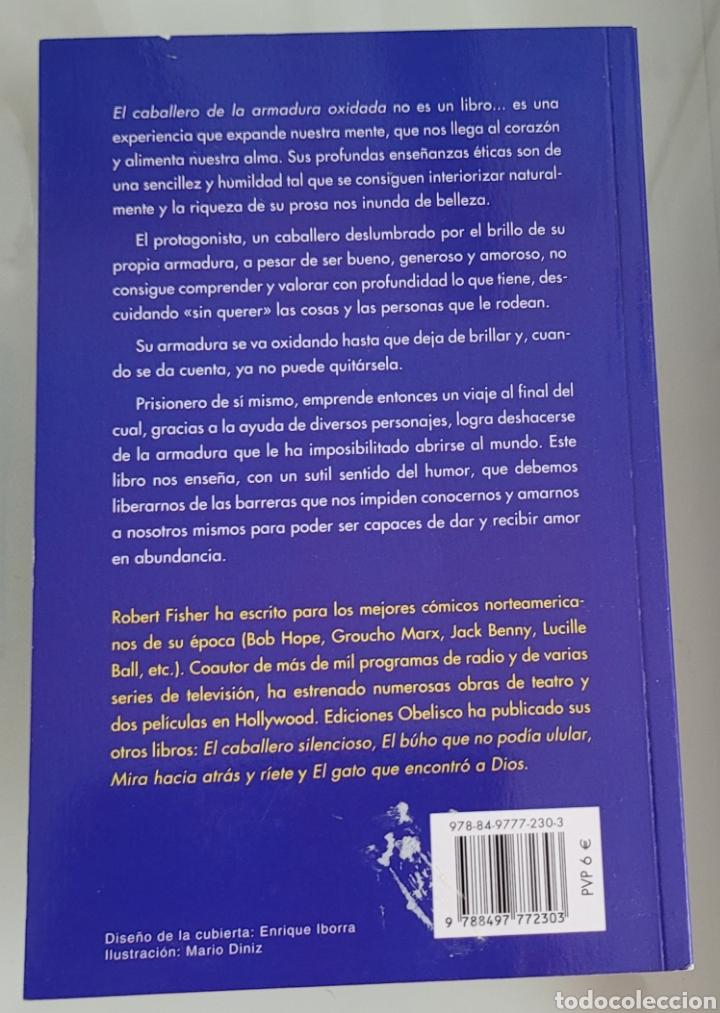 Libros: El caballero de la armadura oxidada. Robert fisher. - Foto 2 - 257392750