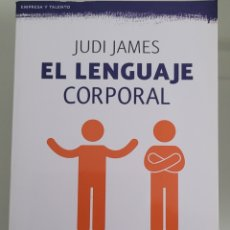 Libros: EL LENGUAJE CORPORAL. JUSI JAMES.. Lote 258003950