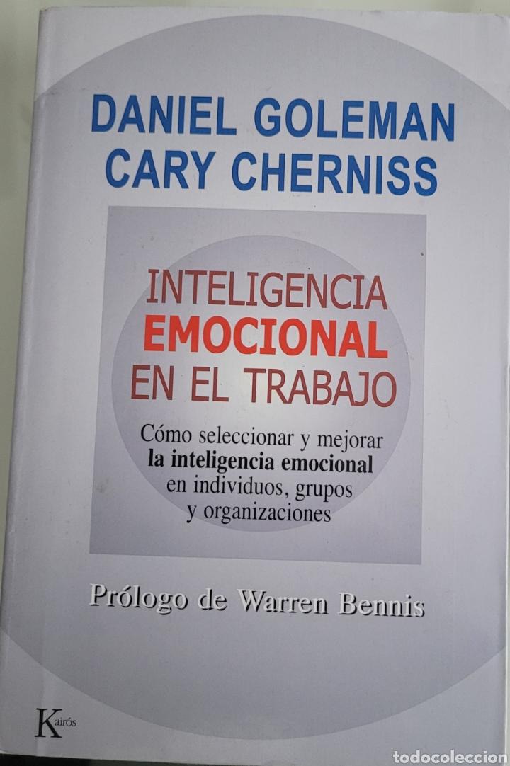 INTELIGENCIA EMOCIONAL EN EL TRABAJO. DANIEL GOLEMAN. (Libros Nuevos - Humanidades - Otros)