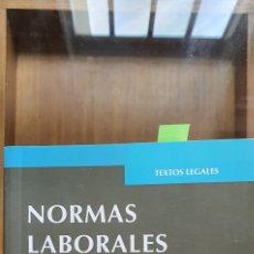 Libros: NORMAS LABORALES BASICAS. Lote 270358303