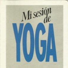 Libri: MI SESIÓN DE YOGA / ANDRÉ VAN LISEBETH. Lote 273762898