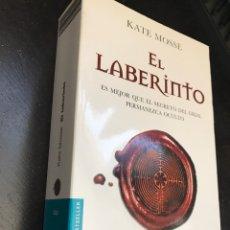 Libros: LIBRO EL LABERINTO. KATE MOSSE. Lote 276294583