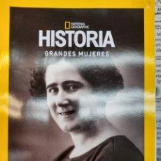 Libros: GRANDES MUJERES CLARA CAMPOAMOR NATIONAL GEOGRAFIC. Lote 276988948